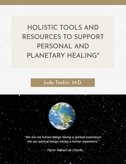 Ebook cover page for Holistic Tooks and Resources to Support Personal and Planetary Healing